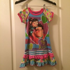 Wreck It Ralph Custom Shirt Dress